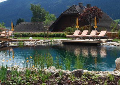 Φυσική πισίνα-Μια διαφορετική εικόνα πισίνας