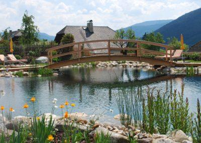 Φυσική πισίνα χωρίς χημικά-Η γέφυρα προς την φύση