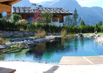 Φυσική πισίνα χωρίς χημικά-Εικόνα χαλάρωσης