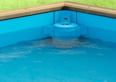 Πισίνα για παιδιά PISTOCHE. Λειτουργία  skimmer στην άνω στάθμη