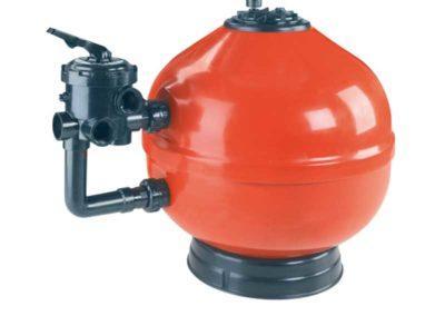 Μηχανήματα πισίνας-Φίλτρο άμμου ASTRAL για ιδιωτική χρήση με σύστημα πολλαπλής βάνας