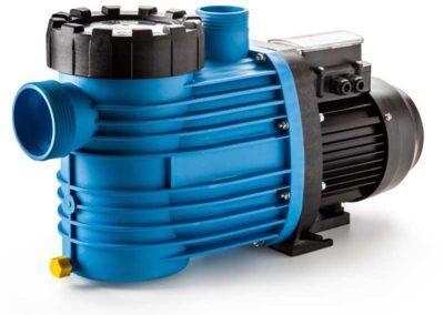 Μηχανήματα πισίνας-Αντλία πισίνας με ενσωματωμένο προφίλτρο. Από ειδικό πλαστικό