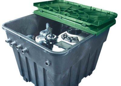 Μηχανήματα πισίνας-Έτοιμο μηχανοστάσιο ASTRAL με εγκατεστημένα τα βασικά μηχανήματα