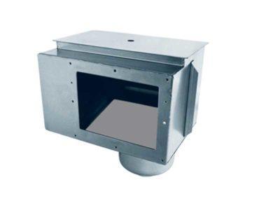 Μηχανήματα πισίνας-Επιφανειακός απορροφητήρας χωρίς προέκταση εισόδου. Από ανοξείδωτο χάλυβα.