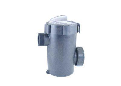 Μηχανήματα πισίνας-Προφίλτρο από ABS με διαφανές καπάκι