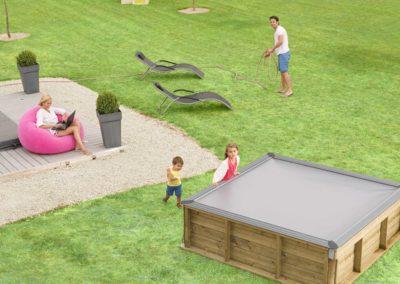 Πισίνα για παιδιά PISTOCHE. Εγκατάσταση πρακτικά σε κάθε χώρο