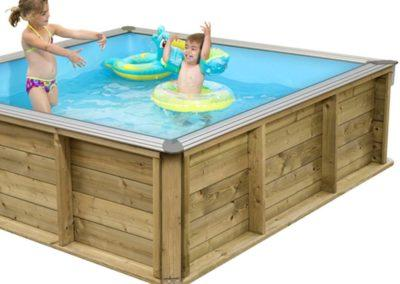 Πισίνα για παιδιά PISTOCHE- Δυνατότητα χρήσης από διαφορετικές ηλικίες παιδιών
