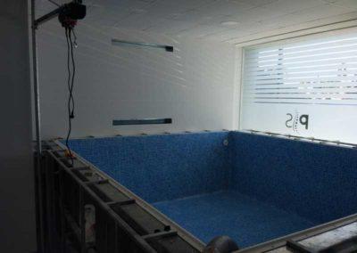 Μικρή πισίνα-Επένδυση με liner 1,5mm