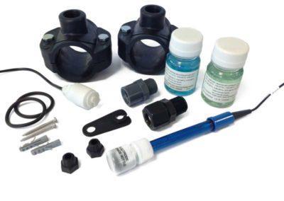 Αυτόματος χλωριωτής-Ηλεκτρόδιο redox με υλικά εγκατάστασης -epool