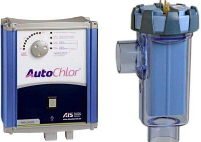 Ηλεκτρόλυση άλατος-Από την  AutoChlor