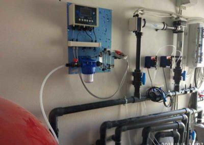 Πισίνα προκατασκευασμένη-Αυτόματο σύστημα ρύθμισης Χημικής Ισορροπίας νερού