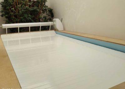 Πισίνα αποκατάστασης-Αυτόματο θερμομονωτικό κάλυμμα