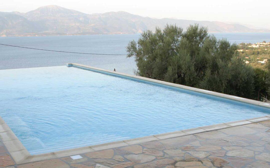 Ενεργό Οξυγόνο Υγρό στη πισίνα